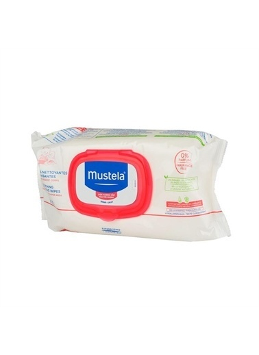 Mustela Mustela Soothing Cleansing Wipes ( 70 Wipes ) - Çok Hassas Ciltler İçin Temizleme Mendili Renksiz
